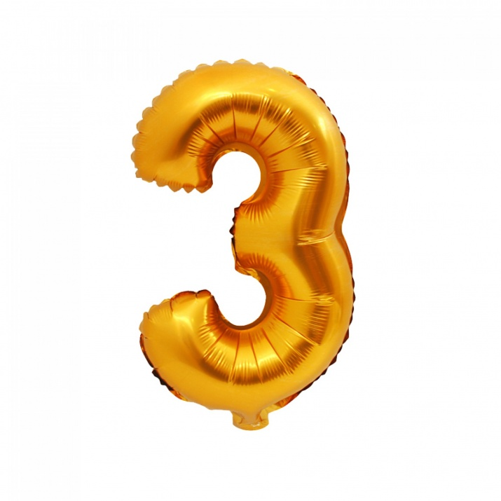 Балони - Цифри Балон - Цифра 3