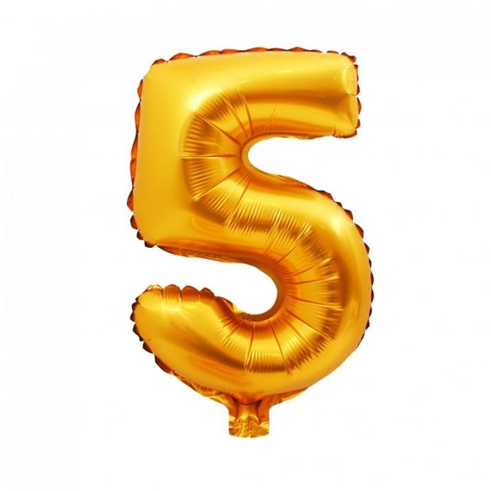 Балони - Цифри Балон - Цифра 5