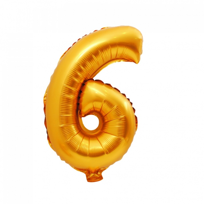 Балони - Цифри Балон - Цифра 6