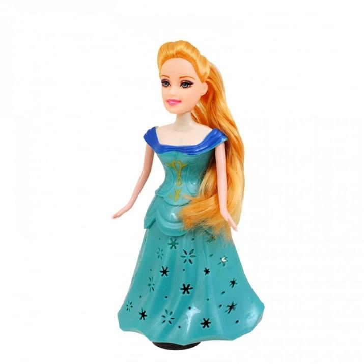 Принцеса с чупещи се ръце /на батерии/. Принцеса с чупещи се ръце /син/