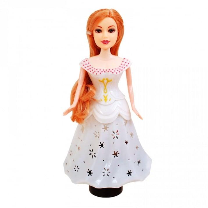 Принцеса с чупещи се ръце /на батерии/. Принцеса с чупещи се ръце /бял/