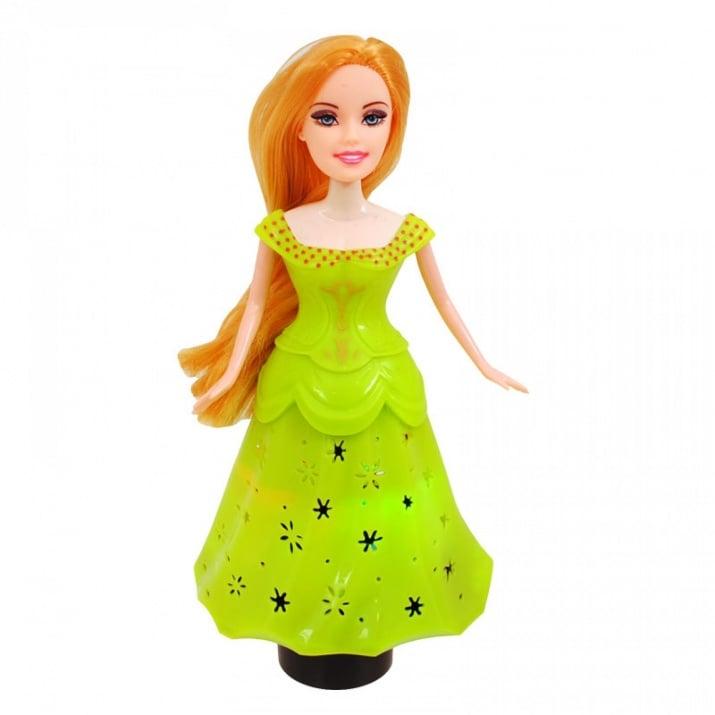 Принцеса с чупещи се ръце /на батерии/. Принцеса с чупещи се ръце /зелен/