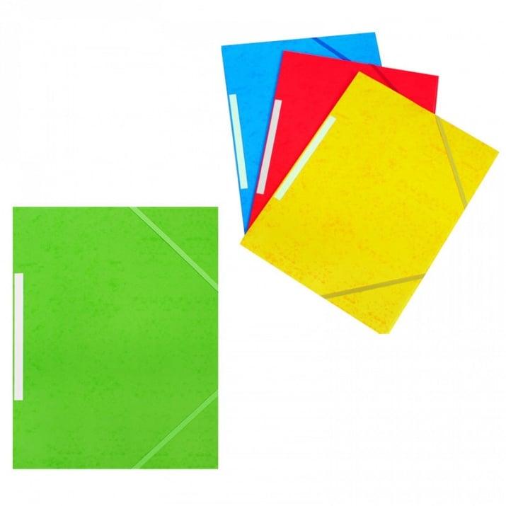 Папка с ластик А4+ /картон/