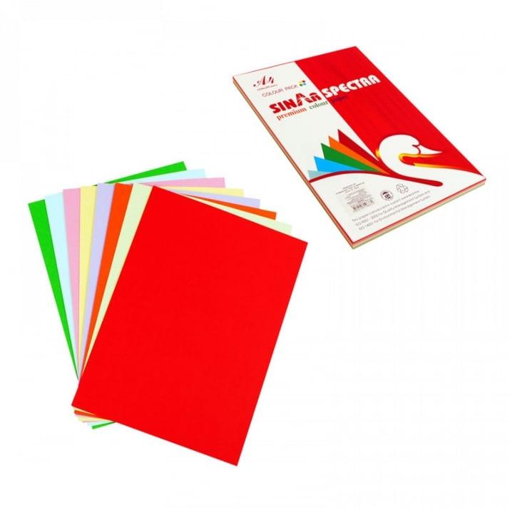 Цветни листи А4