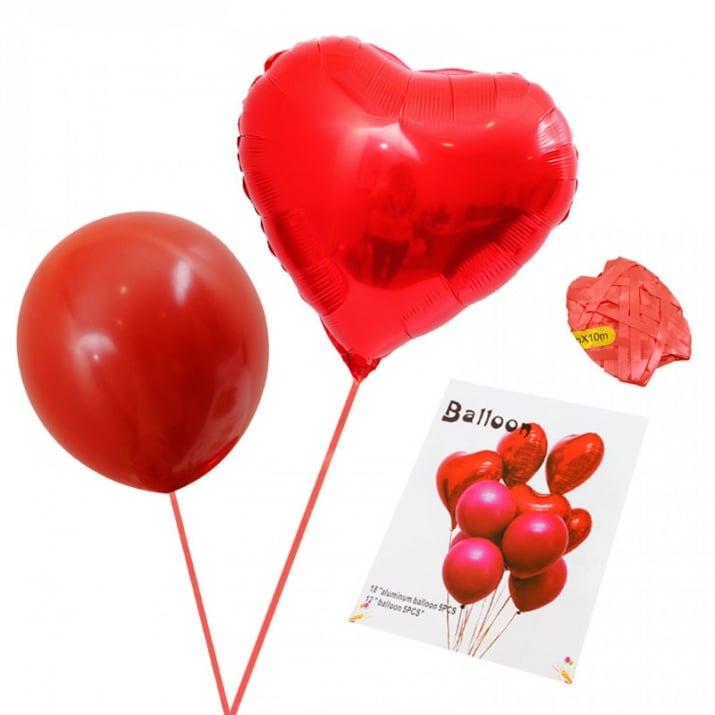 "К-кт Балони ""Сърца"" /10 броя/"