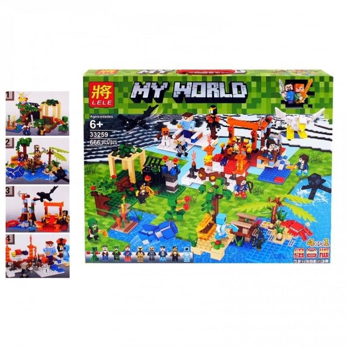 """Конструктор 4 в 1  """"My World"""""""