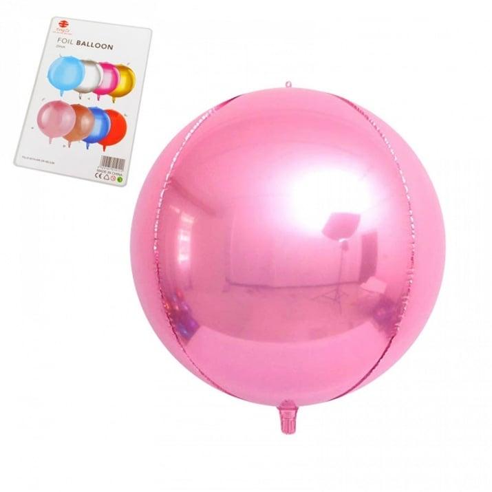 "Балони Сфера /фолио/ Балони ""Сфера"" - фолио /розов/"
