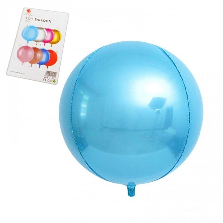 "Балони Сфера /фолио/ Балони ""Сфера"" - фолио /светло син/"