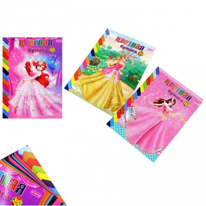 Книжка от 12 цветни листа А4 /за момичета/