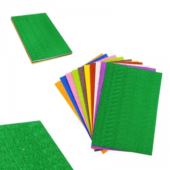 Цветни листи за декорация - релефни /EVA материал/