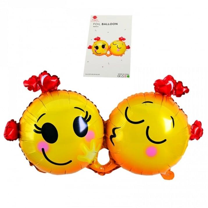 "Балон ""Влюбени Емотикони"" /фолио/"