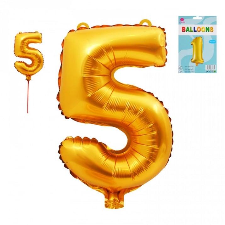 Балони - Цифри /фолио/ Балон - Цифра 5