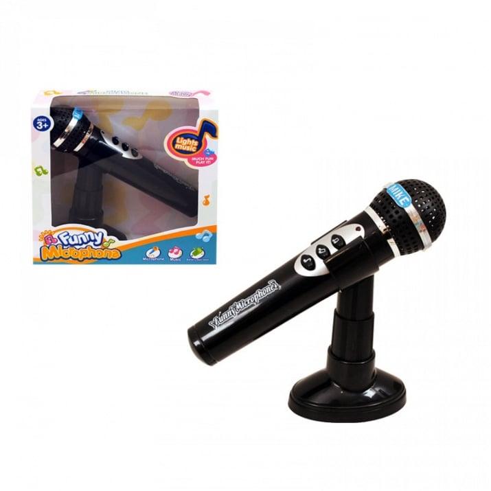 Микрофон на стойка