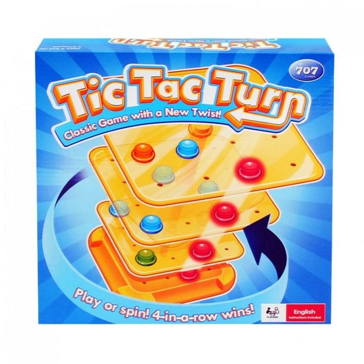 """Занимателна игра """"Tic Tac Turn"""""""