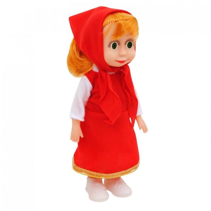 """Музикална кукла Маша /с машинка/. Музикална кукла """"Маша"""" /червен/"""