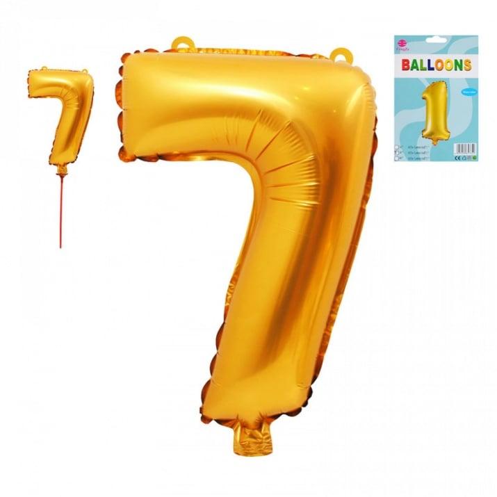 Балони - Цифри /фолио/ Балон - Цифра 7