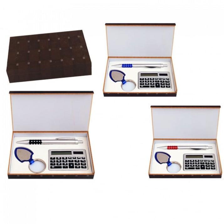 К-кт химикал, калкулатор и ключодържател