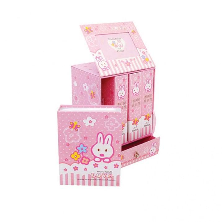 Фотоалбум Бебе 4 броя в кутия Фотоалбум ;Бебе 4 броя в кутия /розов/