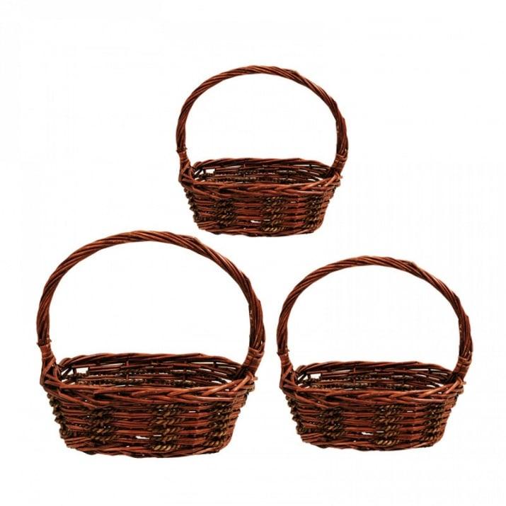 Декоративни кошници - 3 броя, COSMOPOLIS