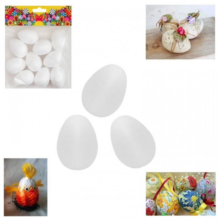 Яйце за декорация /10 броя в опаковка/