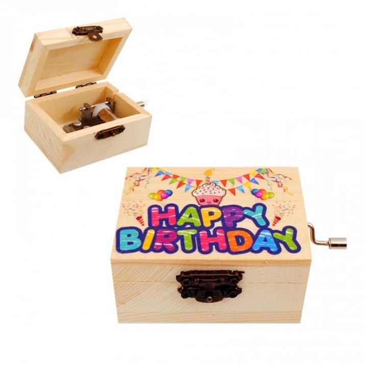 """Кутия - Латерна """"Честит Рожден Ден"""""""