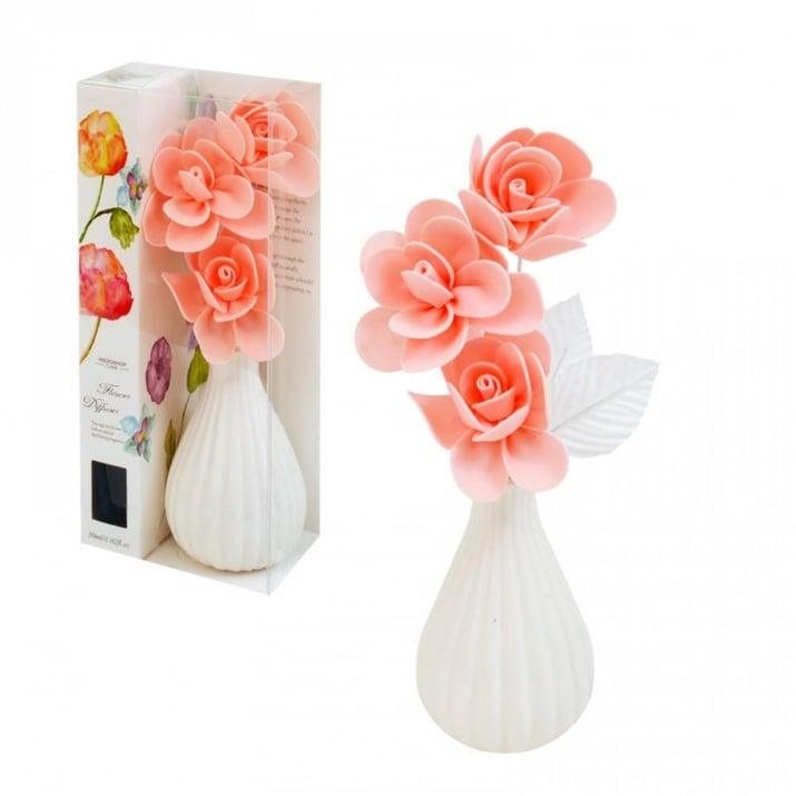 Ароматизатор ваза с цветя, различни аромати - 30мл Ароматизатор с ваза /теменужка/