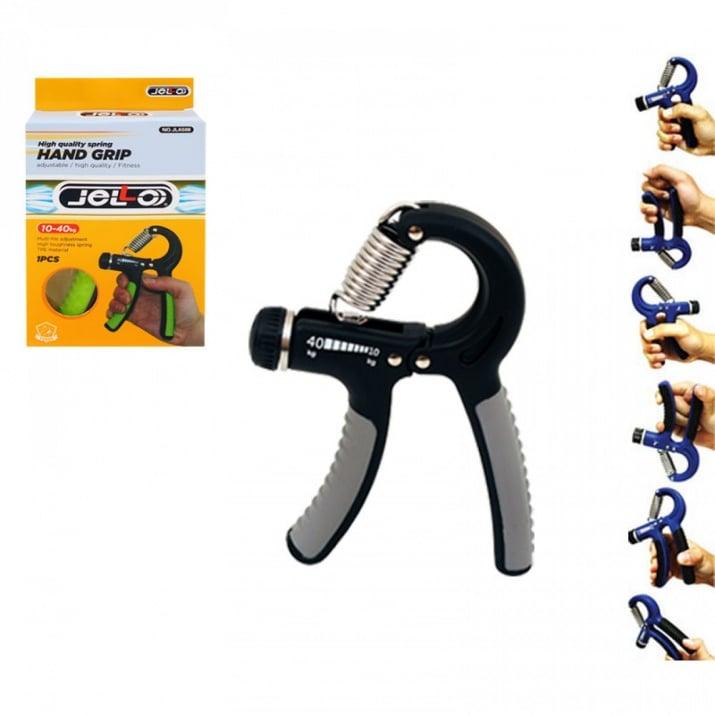 Преносим силиконов фитнес уред, COSMOPOLIS Преносим фитнес уред за ръка /сив/