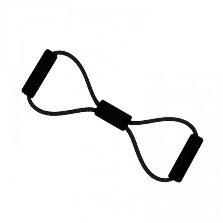 Преносим силиконов фитнес уред, COSMOPOLIS Преносим силиконов фитнес уред /черен/