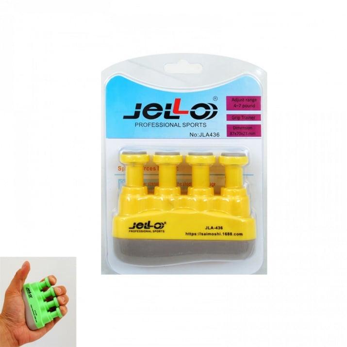 Преносим фитнес уред за пръсти, COSMOPOLIS Преносим фитнес уред за пръсти /жълт/
