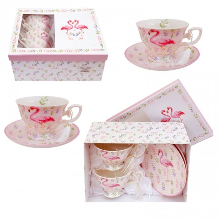 "Сервиз за чай ""Фламинго"" /лукс/"