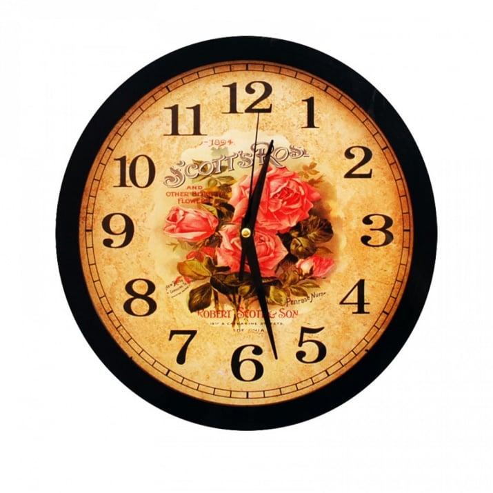 Стенен часовник Стенен часовник /черен/