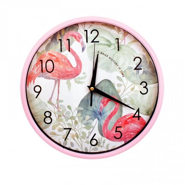 """Стенен часовник Стенен часовник """"Фламинго"""""""