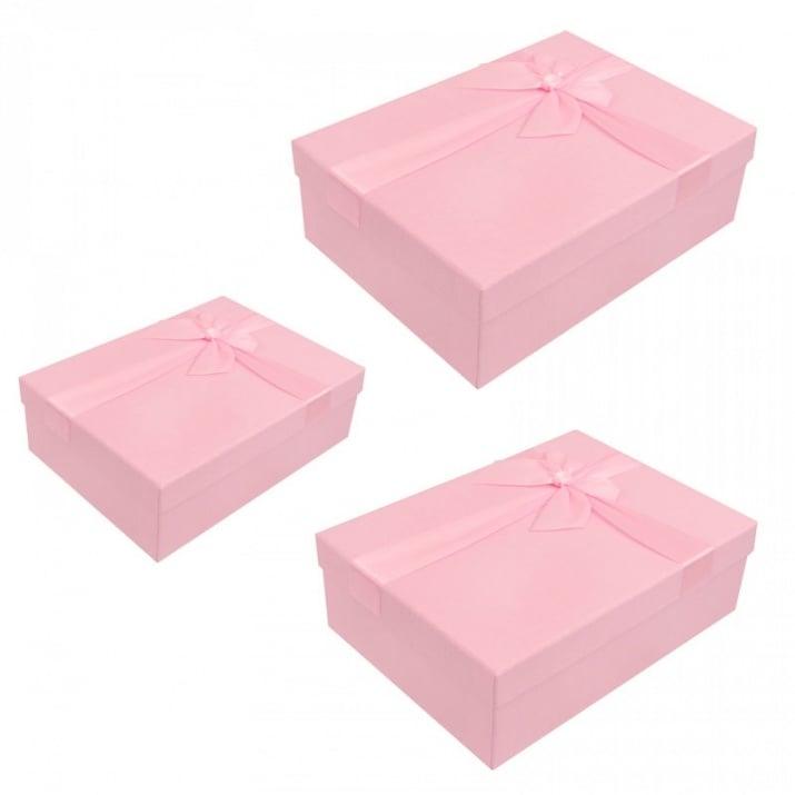 Луксозна подаръчна кутия 3 в 1 /правоъгълна/ Луксозна подаръчна кутия 3 в 1