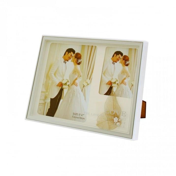Сватбена фоторамка с декорация