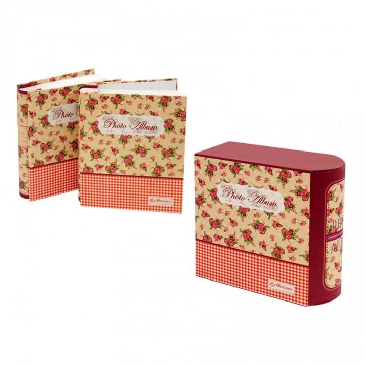 Комлект 2 броя Фотоалбуми в кутия К-кт Фотоалбуми в кутия /червен/
