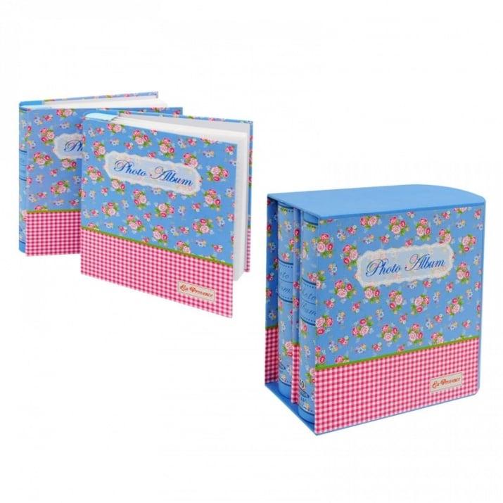 Комлект 2 броя Фотоалбуми в кутия К-кт Фотоалбуми в кутия /син/