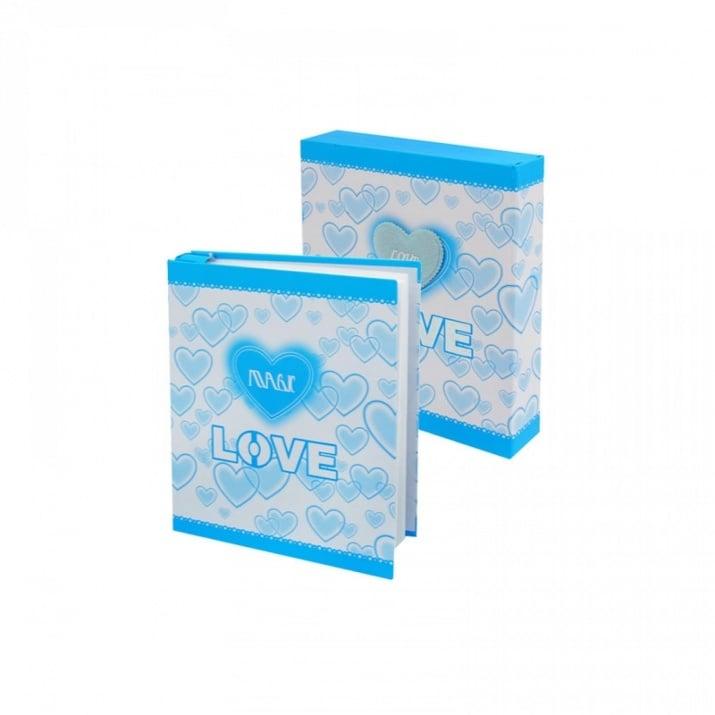 """Фотоалбум в кутия Love а 72 снимки Фотоалбум в кутия """"Love"""""""