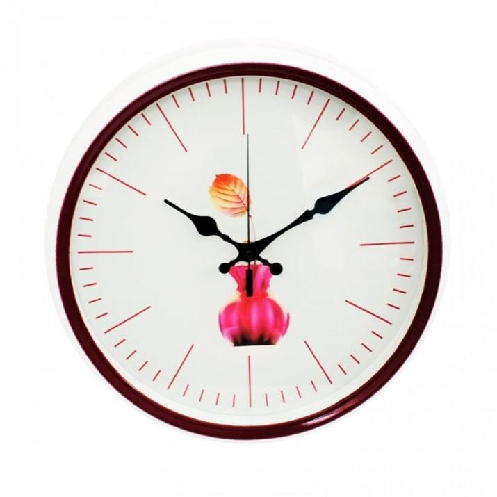 Стенен часовник  - Ф 35 см. х 5 см. Стенен часовник