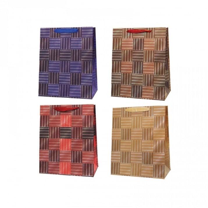 Подаръчна 3D торбичка /дебел картон/