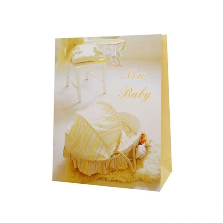 Подаръчна торбичка Baby /дебел картон/ Подаръчна торбичка