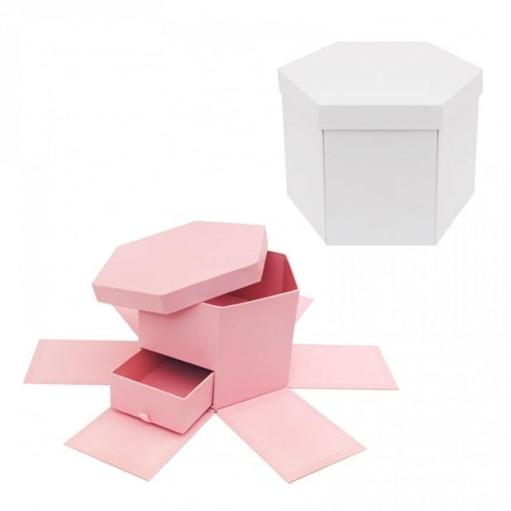 """Подаръчна кутия """"Албум - Изненада"""" с чекмедже"""