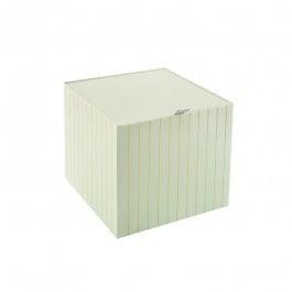 Подаръчна кутия със златна нишка - 19.5 см/19.5 см/18 см Подаръчна кутия със златна нишка