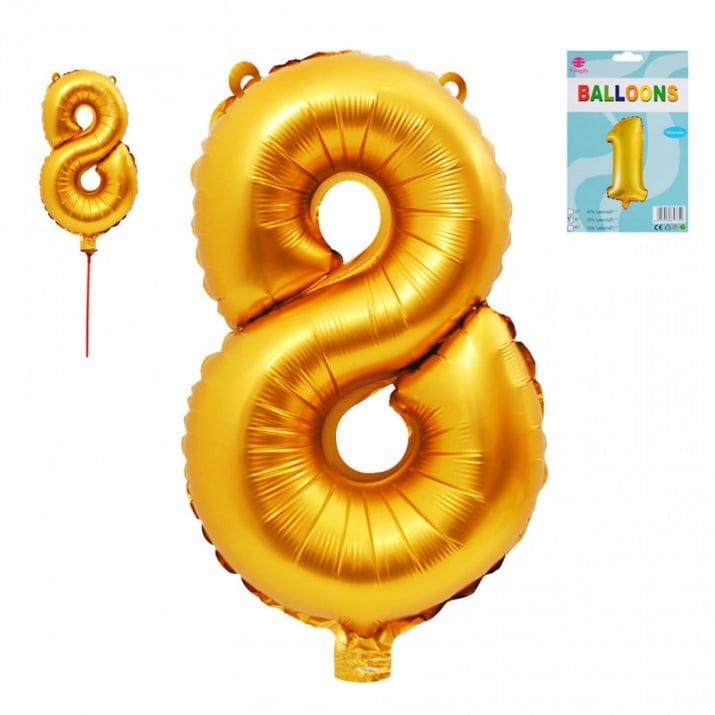 Балони - Цифри /фолио/ Балон - Цифра 8