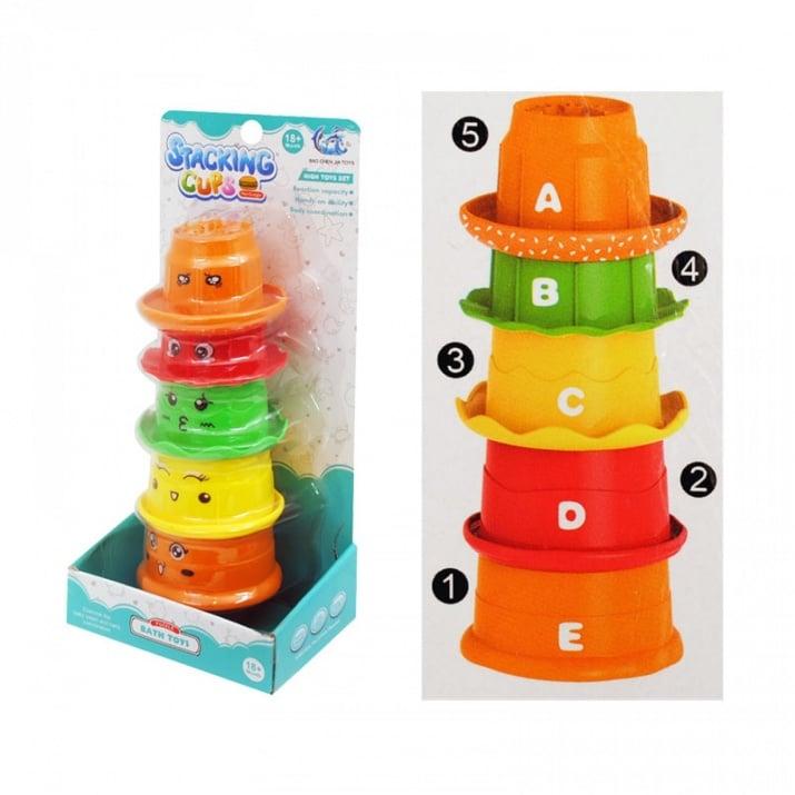 Креативна образователна игра с чашки