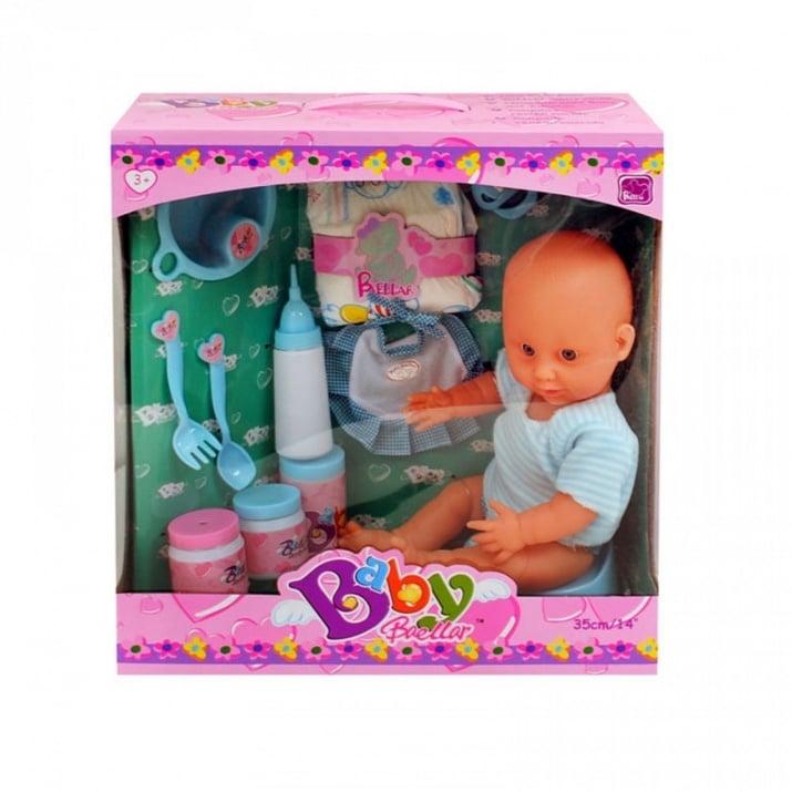 Пишкащо бебе - с памперс и други аксесоари Пишкащо бебе /син/