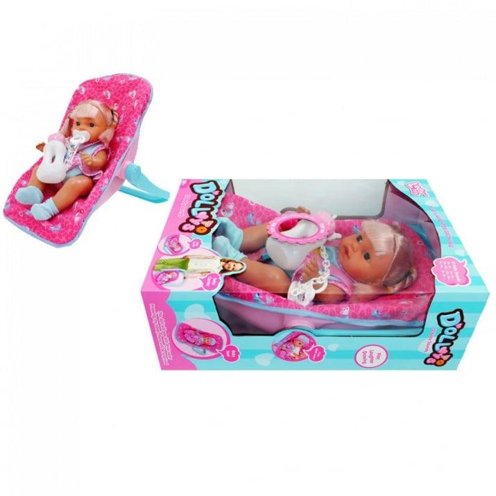 Кукла в столче с аксесоари /с машинка/