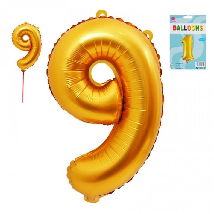 Балони - Цифри /фолио/ Балон - Цифра 9