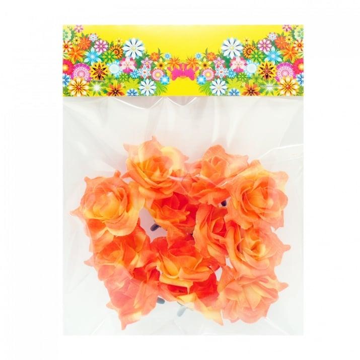 Рози за декорация, COSMOPOLIS Цветя за декорация - 12 бр