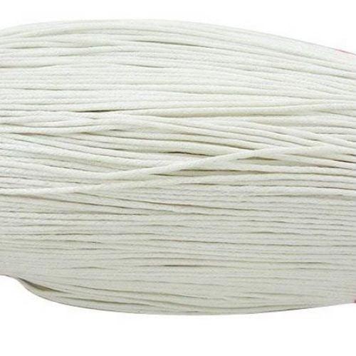 Шнур памук колосан 1.5 мм бял ~80 метра