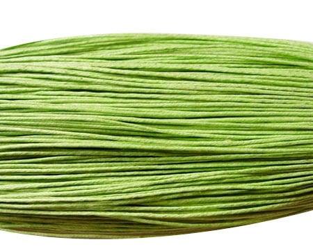 Шнур памук колосан 0.8 мм зелен светъл ~72 метра